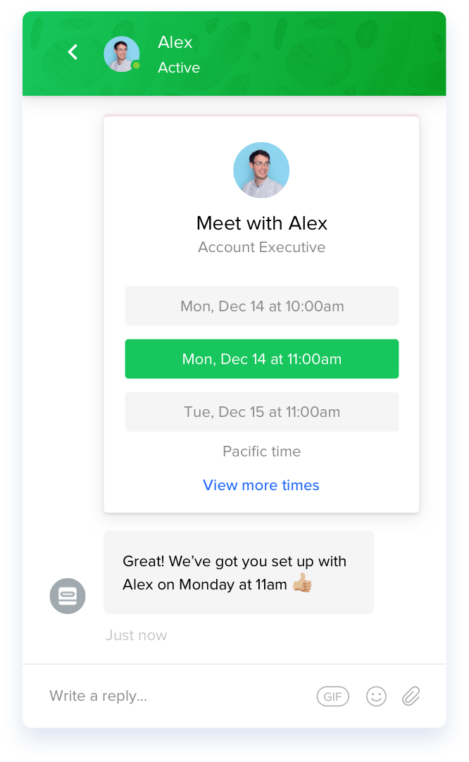 Picture of Intercom Messenger